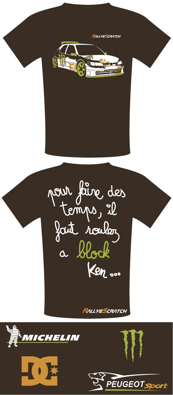 TEE SHIRT RALLYE SCRATCH tee-shirt-block