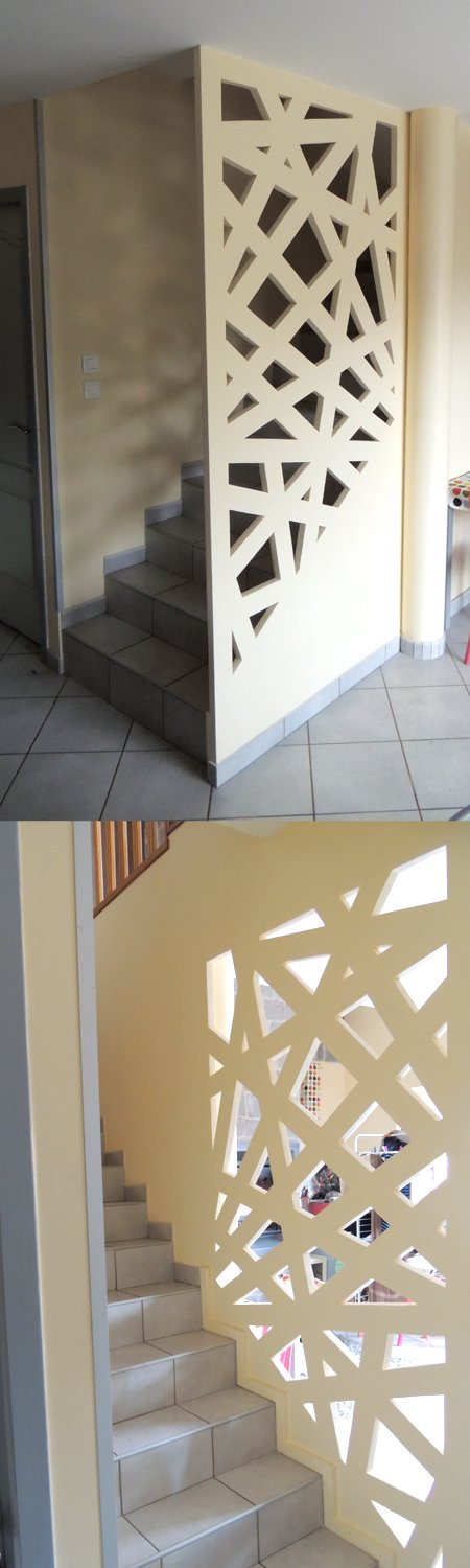 Agencement cage d escalier unsign design for Cage escalier design
